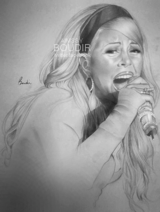 Mariah Carey by mcbob84
